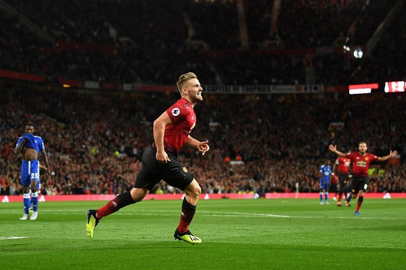 Manchester United left-back Luke Shaw plays a crucial role in Manchester United's gameplay in the final third