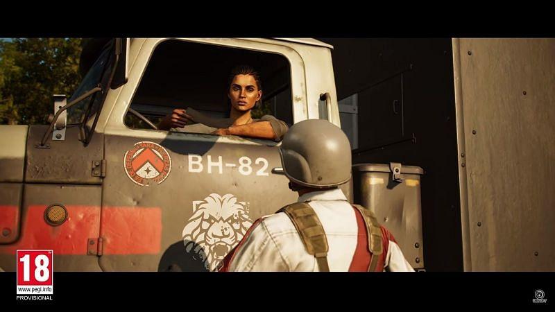 Dani Rojas crossing the border (Image via Ubisoft)