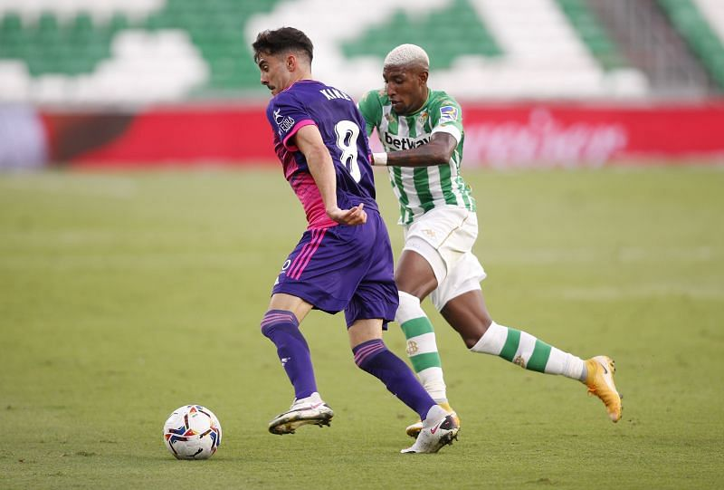 Real Betis take on Real Valladolid this weekend