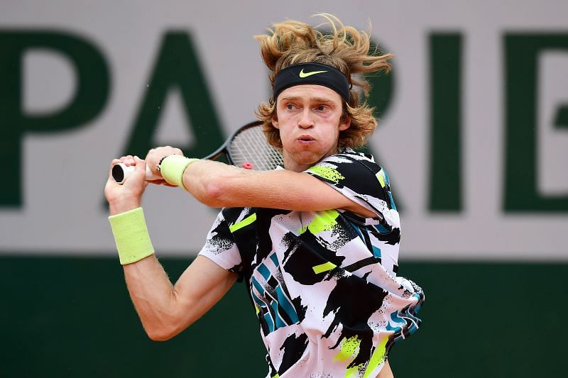 Andrey Rublev will look to make up for his ealry exits in Barcelona and Madrid.