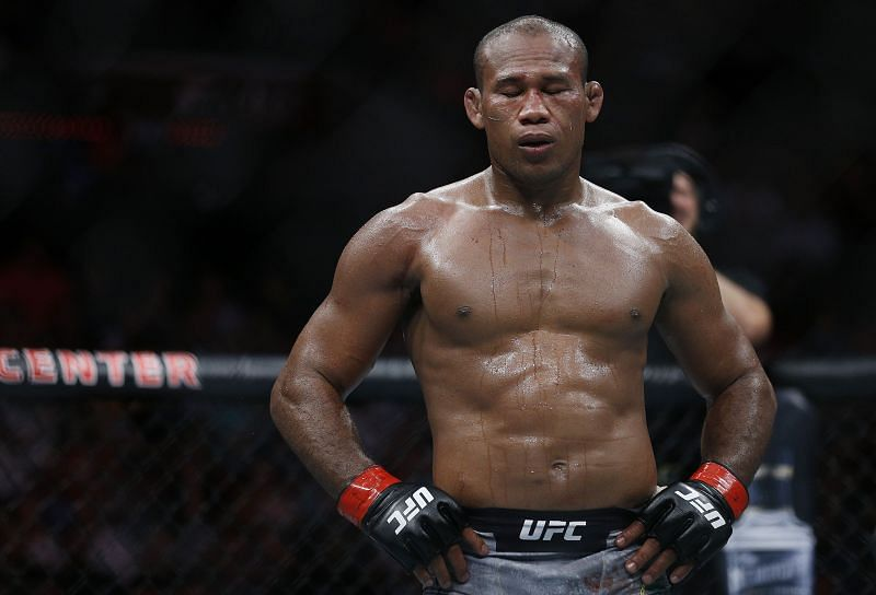 Jacare Souza seemed to age overnight during his fight with Jack Hermansson