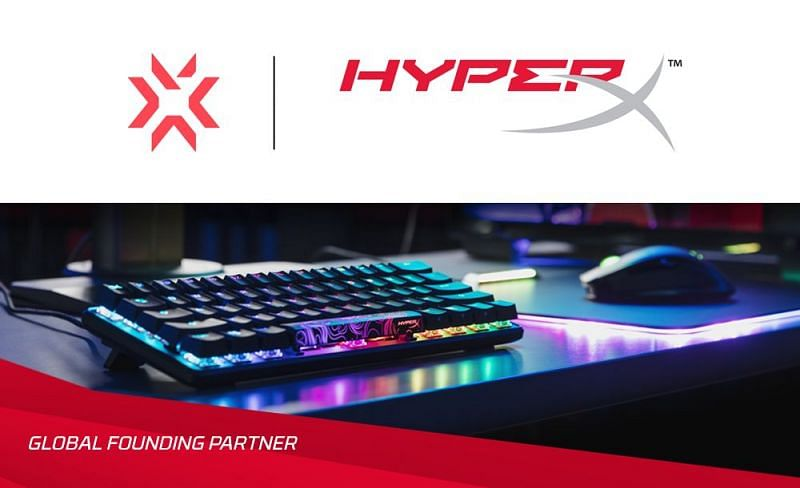 Valorant Champions Tour 2021 to be sponsored by HyperX as they become Global Founding Partner