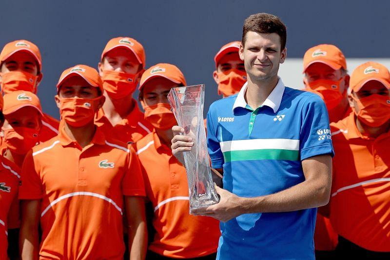 Hubert Hurkacz won the 2021 Miami Open