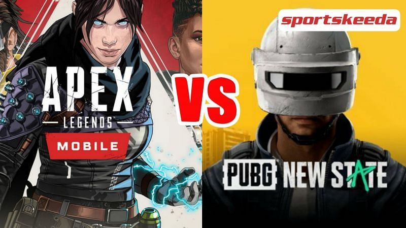 Apex Legends Mobile and PUBG New State are two popular upcoming battle royale titles