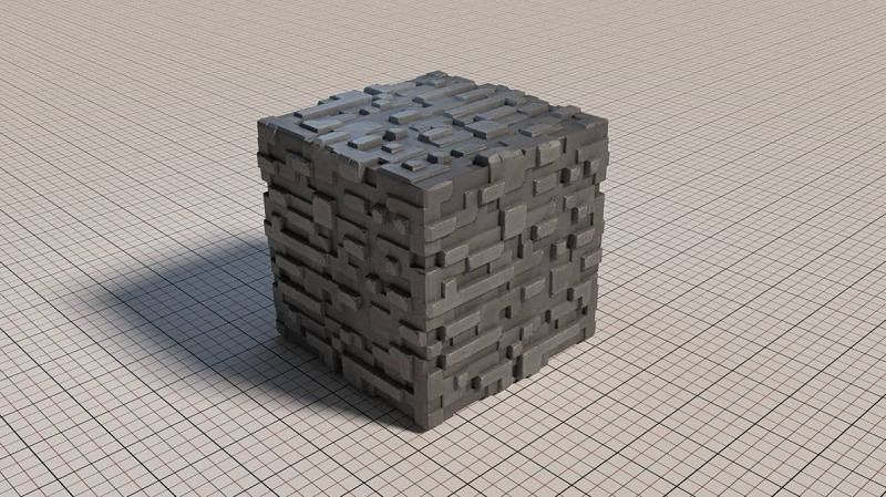A stone illustration (Image via Reddit)