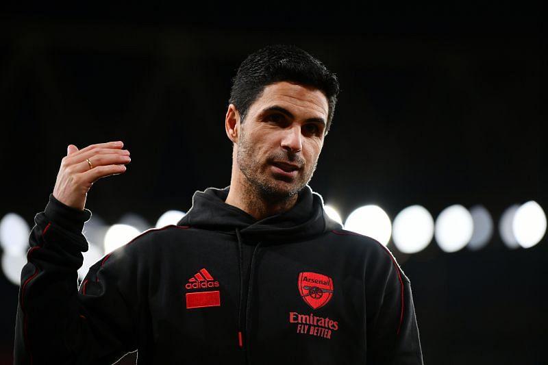 Arsenal manager Mikel Arteta. (Photo by Dan Mullan/Getty Images)