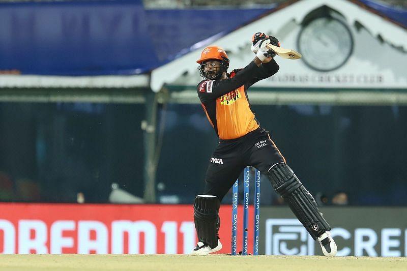 Vijay Shankar is averaging just 11.6 for the Sunrisers Hyderabad in IPL 2021 [P/C: iplt20.com]
