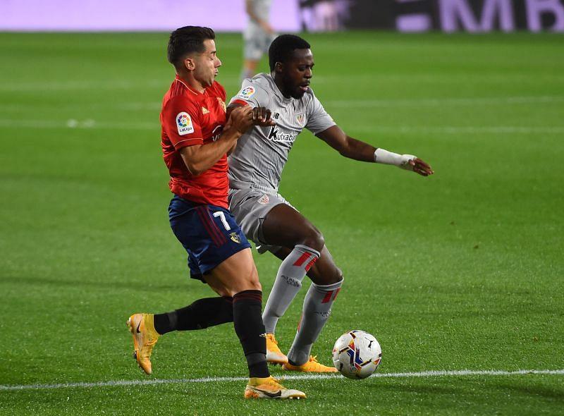 Osasuna take on Athletic Bilbao this weekend