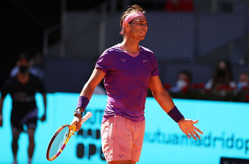 Rafael Nadal was beaten in straight sets by Alexander Zverev in the quarterfinal of Madrid Open