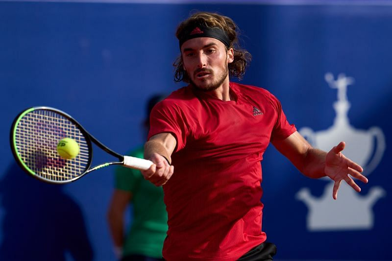 Stefanos Tsitsipas recently lost to Rafael Nadal in the final of the Barcelona Open