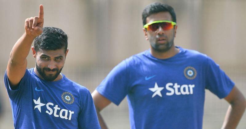 Ravindra Jadeja (left) and R Ashwin (Photo: AFP)