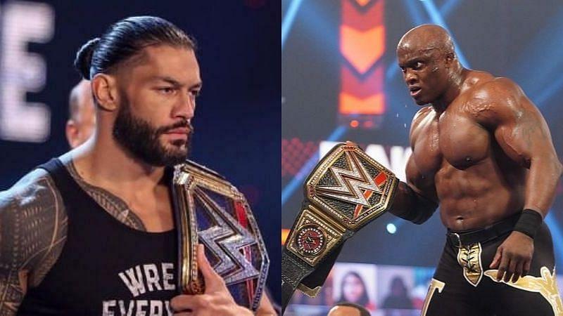 WWE चैंपियन और यूनिवर्सल चैंपियन