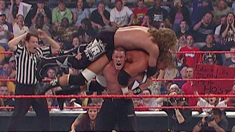 John Cena vs Triple H vs Edge