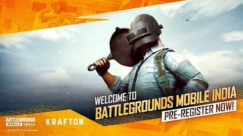 Players can now pre-register for Battlegrounds Mobile India (Image via Google Play Store)