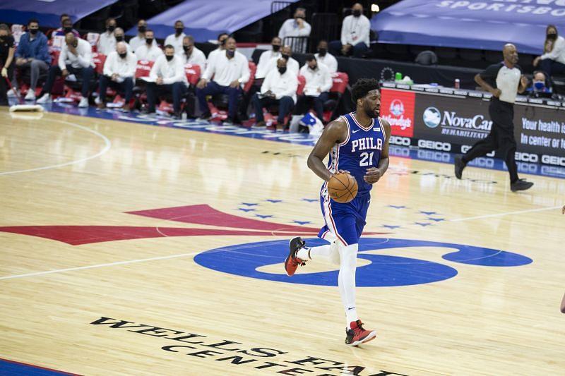 Joel Embiid has been dominant all season for the Philadelphia 76ers.