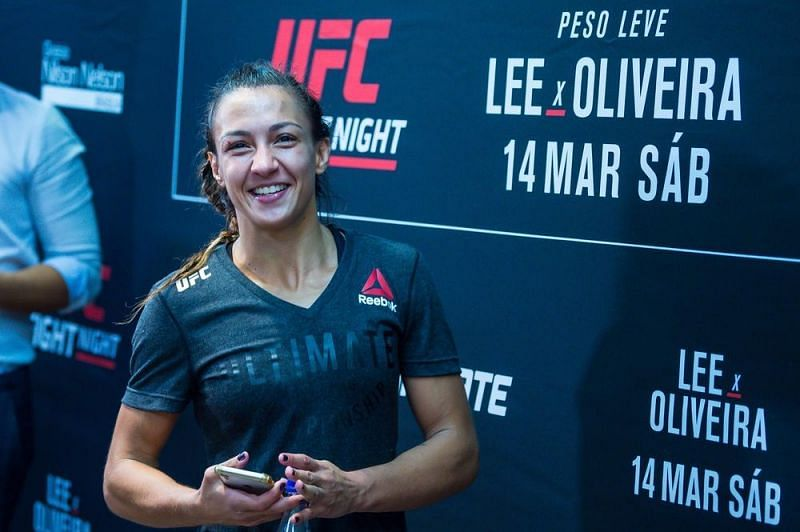 Amanda Ribas has been forced to withdraw from the UFC Vegas 26 card