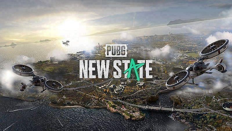 The futuristic backdrop of PUBG New State (Image via Google Play Store)