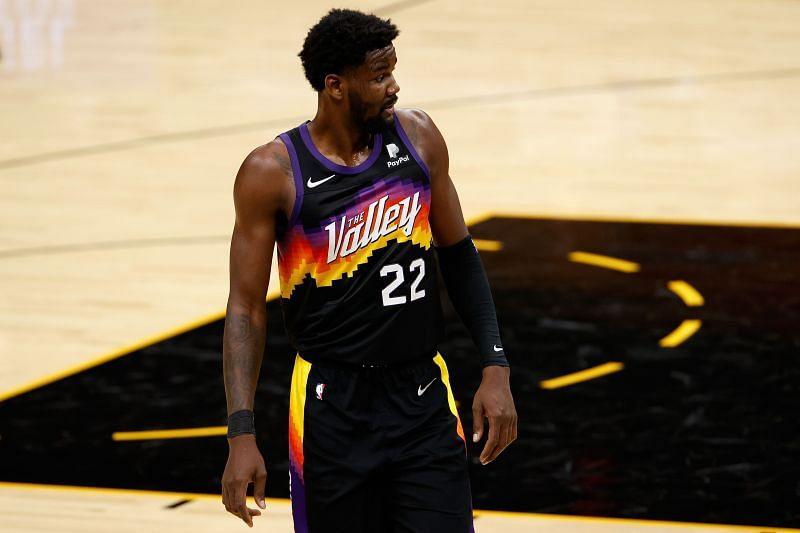 Deandre Ayton of the Phoenix Suns