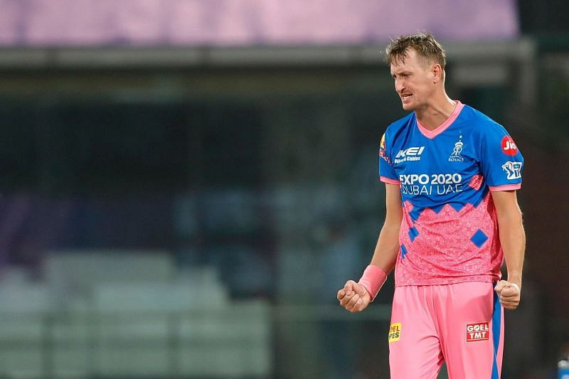 Chris Morris snapped two opponents against the Mumbai Indians (Image Courtesy: IPLT20.com)
