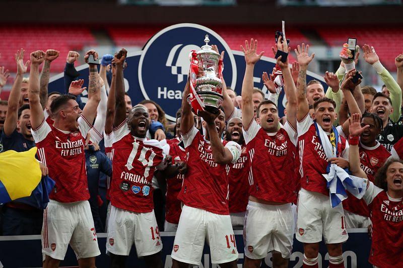 Arsenal won the 2020 FA Cup under Arteta. (Photo by Adam Davy/Pool via Getty Images)