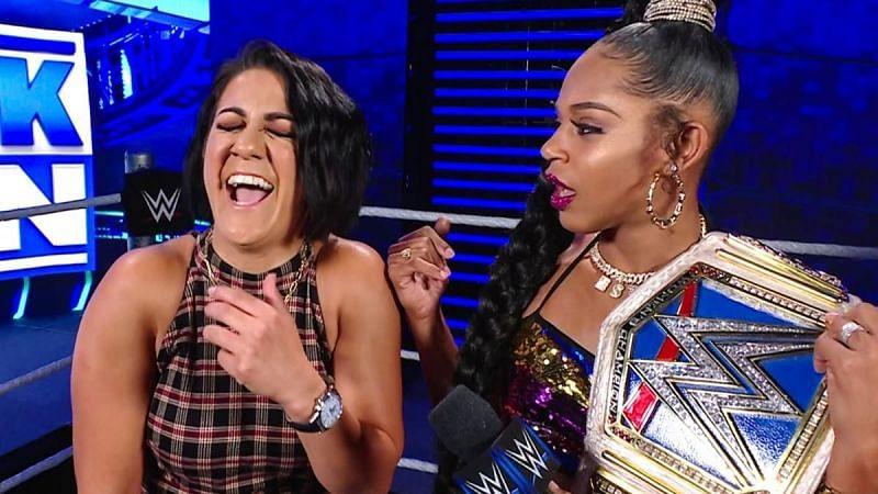 Bianca Belair will defend the SmackDown Women