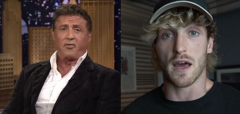 Sylvester Stallone comments on Logan Paul