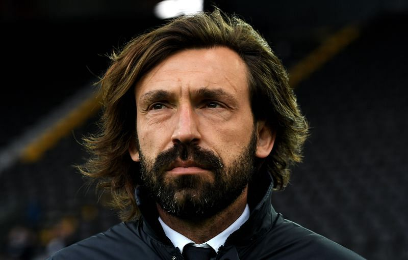 Andrea Pirlo is in the hot seat
