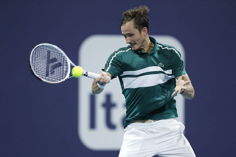 Daniil Medvedev is yet to win a match in two previous visits to Madrid