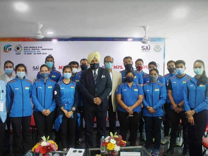 Indian shooters will shift training base to Europe to ramp up preparations for Tokyo Olympics (Source: NRAI/Twitter)