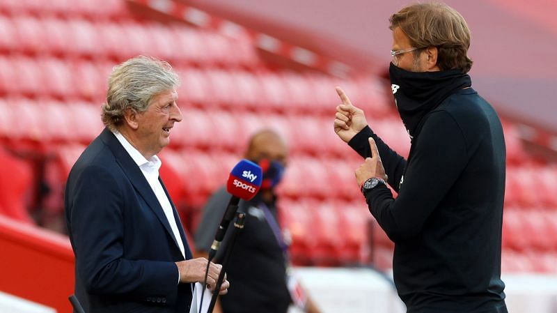 Liverpool and Crystal Palace will take on each other on the final day of the Premier League