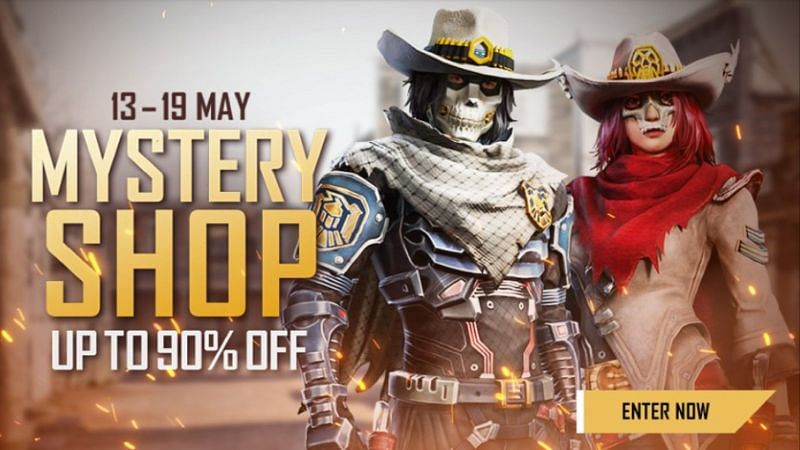 Mystery shop has started in Free Fire, and it has loads of items in-store for the players (Image via Free Fire)