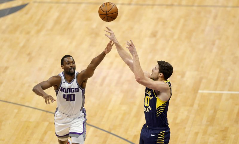 Indiana Pacers v Sacramento Kings