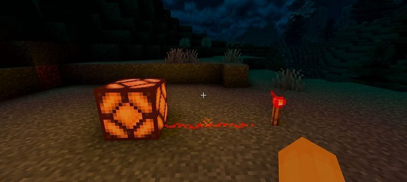 Redstone helps make systems more efficient (Image via Minecraft)
