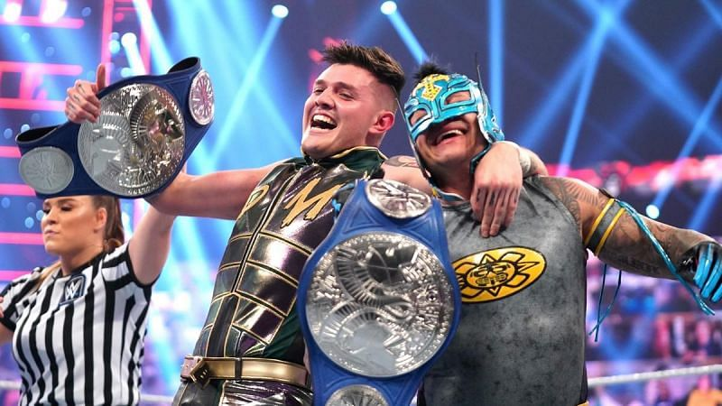The new SmackDown Tag Team Champions