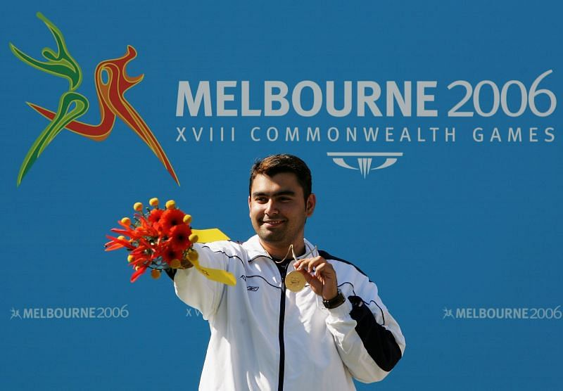 The Indian shooter won six gold medals at the 2006 Melbourne Commonwealth Games