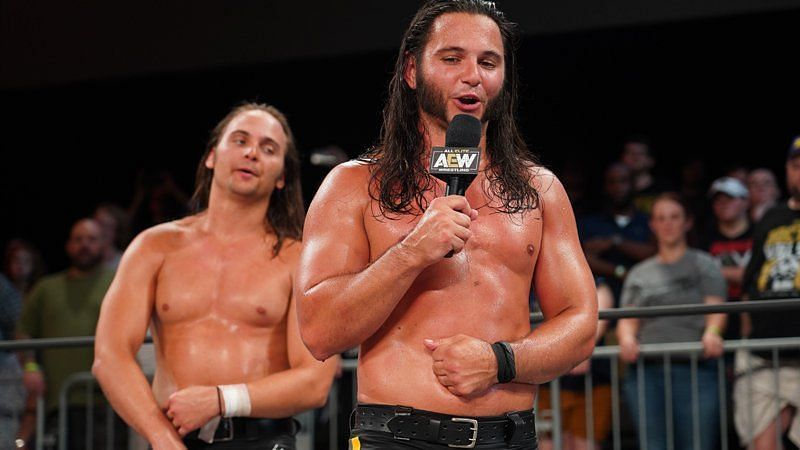 AEW tag champs!