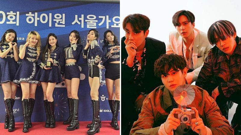 K-Pop groups Oh My Girl and HIGHLIGHT prepare for comebacks this month (Images via Instagram)