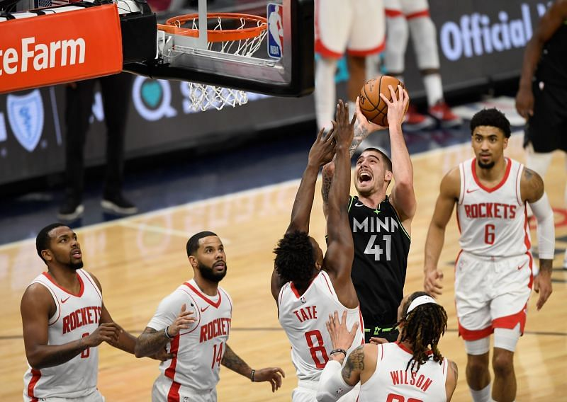 Houston Rockets v Minnesota Timberwolves, both teams aim for a top pick in the 2021 NBA Draft