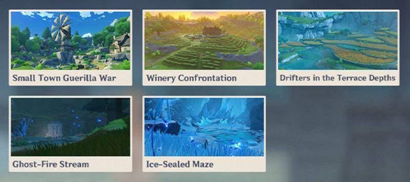 The Contested Zones (Image via miHoYo)