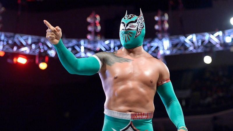 Sin Cara during his WWE tenure
