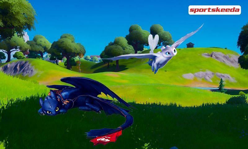 Data miners believe dragons are coming to Fortnite sometime soon. Image via Sportskeeda