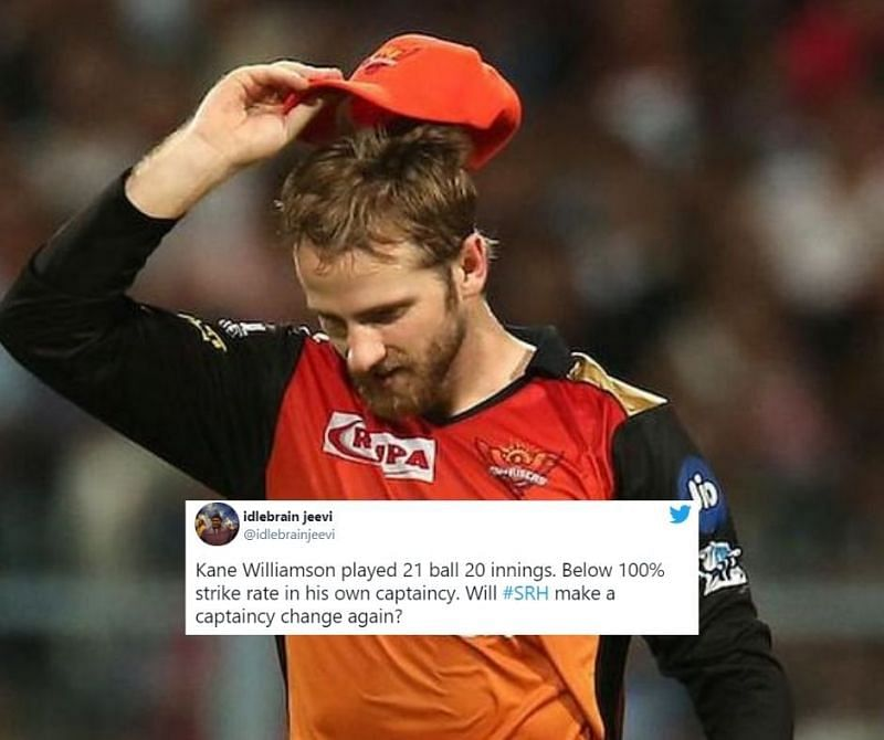 Fans unhappy with Kane Williamson