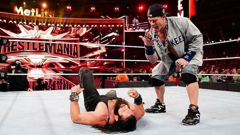 WWE दिग्गज जॉन सीना और इलायस
