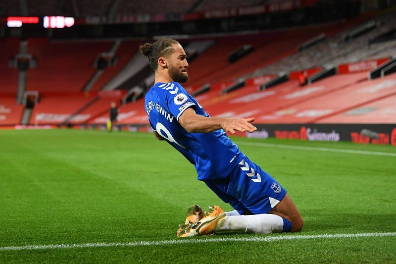 Everton striker Dominic Calvert-Lewin has 15 goals in the 2020/21 Premier League season