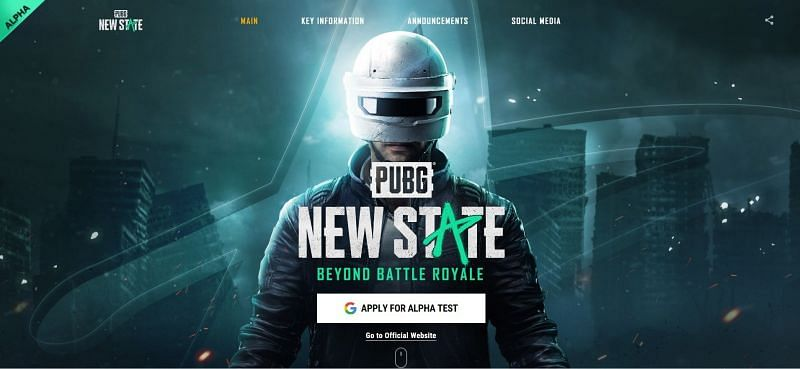 PUBG New State alpha test registrations are ending today
