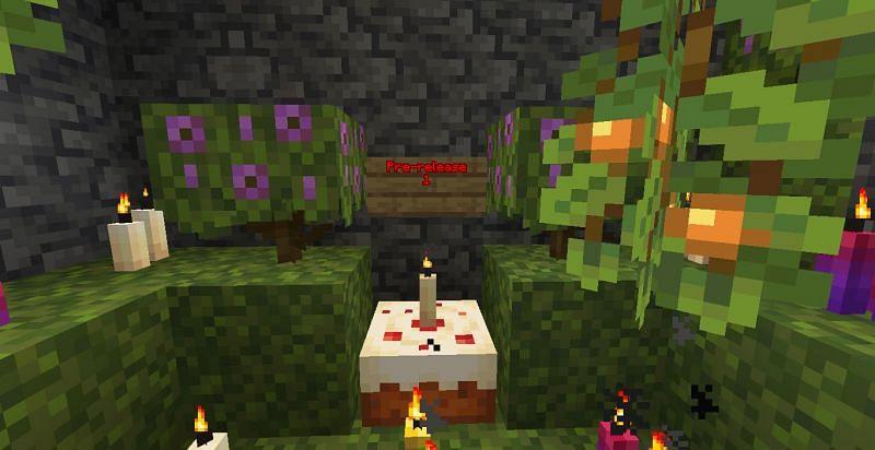 Minecraft 1.17 pre-release 1 (Image via Minecraft)
