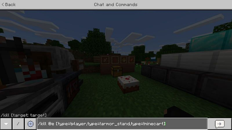Command to kill mobs in Minecraft
