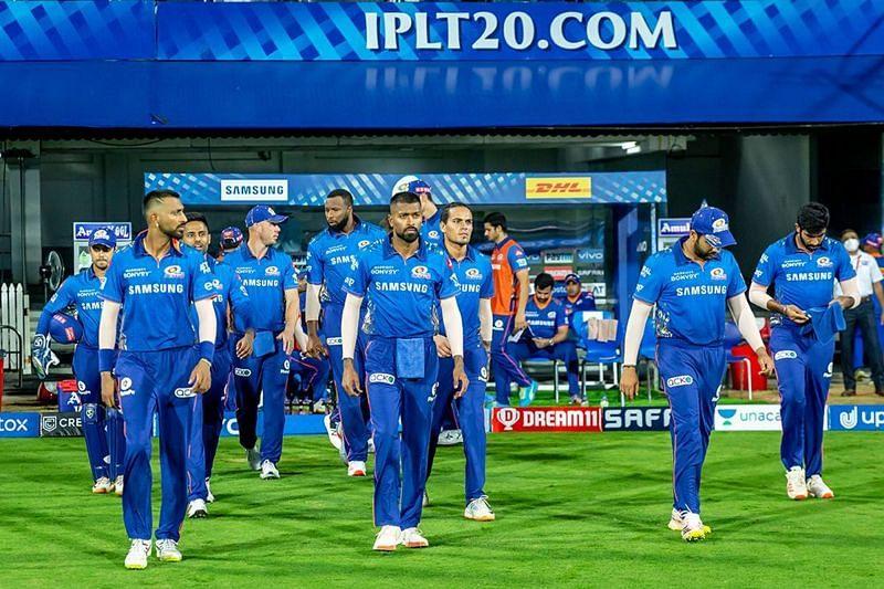Hardik Pandya is yet to fire in IPL 2021 (Image Courtesy: IPLT20.com)