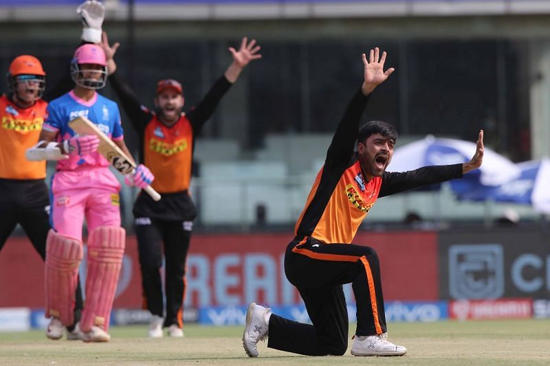 Rashid Khan did pick up a wicket, but could have been utilised more smartly.