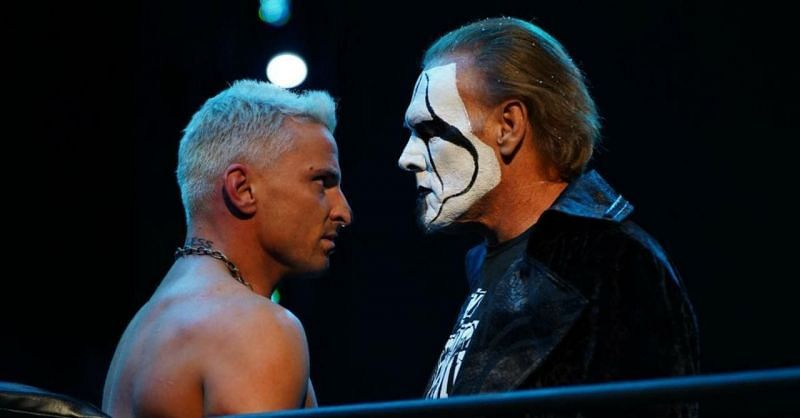 Sting and his ally Darby Allin